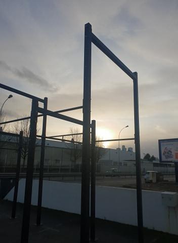 installation extérieure pour CrossFit